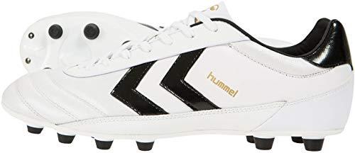 Hummel OLDS SCHOOL DK FG KANGEROO - WHITE/BLACK/GOLD, Größe:9