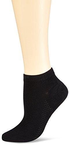 Nur Die Damen Air Comfort  Socke  Strick Füßlinge,  Schwarz (schwarz 940),  39/42
