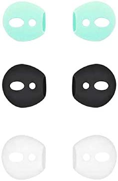 BLLQ Ear Tips Ear Gels Anti Slip Earuds Cover Silicone Compatible with Air Pod 2 Air Pod 1 or product image