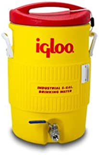 Learn To Brew Mash Tun Igloo Ton with Stainless Steel False Bottom & Valve, 10 gallon