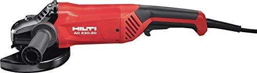 Hilti 2116134 Winkelschleifer mit Not-Schalter zum Schneiden und Schleifen von Metall mit Scheiben, 2000 W