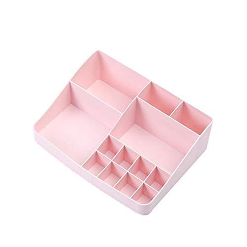 Cabilock Plast Kosmetisk Förvaring Organiserare Skrivbord Kontorsmaterial Hållare Sverige Behållare för skola Hem Kontor (Slumpmässig färg)