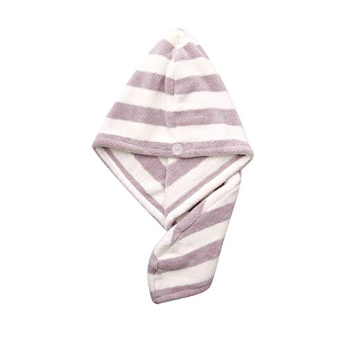WFF sombrero Cabello seco mágico Turban Turban Peinado grande Papel de pelo para mujer- Baño de baño de baño de ultra absorbente Cabra de toalla de cabello drásticamente Reduzca el tiempo de secado de
