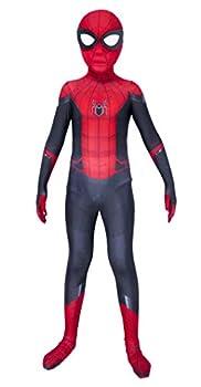 Riekinc Kids Superhero Suits Halloween Cosplay Costumes 3D Style X-Small