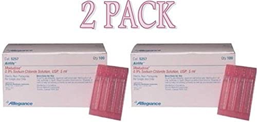 modudose saline solution for inhalation - 100/box(5257 - 5ml unit dose) pack of 2