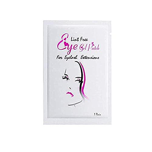 50 Pairs Under Eye Gel Pads Eyelash Extension Pads Lint Free DIY False Eyelash Lash Extension Makeup Eye Gel Patches Pack(50Pack)