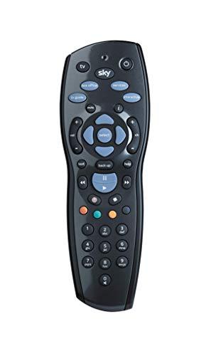 Original Sky+ HD 1TB/2TB Fernbedienung - Duracell Batterien enthalten - kompatibel mit Sky+ HD Digibox - Offizielle SKY125 - Schwarz
