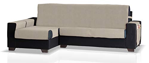 JM textiel beschermer voor hoekbank met GEA ottomane links, grootte groot (275 cm.), kleur beige