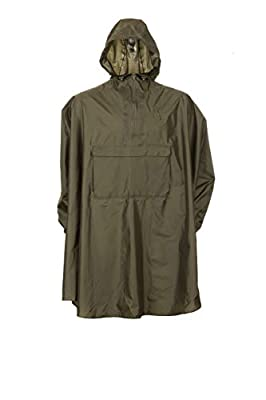 Snugpak Patrol Poncho, Waterproof, One Size, Lightweight, Suitable for Hiking, Camping, and Hunting, Olive
