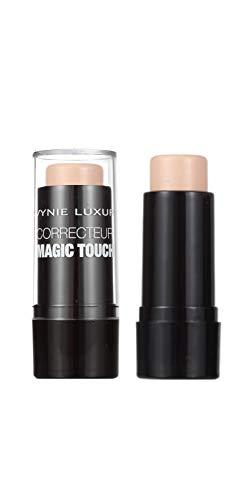 WYNIE Corrector Maquillaje de Imperfecciones Magic Touch Alta Cobertura Formato Crema Acabado Mate Antiojeras Tono 001-3,5 g