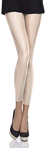 Merry Style Damen Mikrofaser Leggings Clara 40 DEN (Avioro, XS/S (30-36))