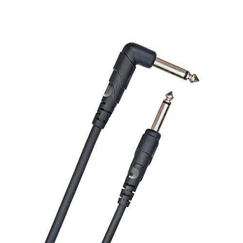 Planet Waves Classic Series Instrument Cable, Right Angle Plug , 10 feet