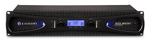 Crown XLS1502 2.0 Verkabelt Schwarz - Audioverstärker (2.0 Kanäle, D, 0,5%, 103 dB, 85 dB, 1550 W)