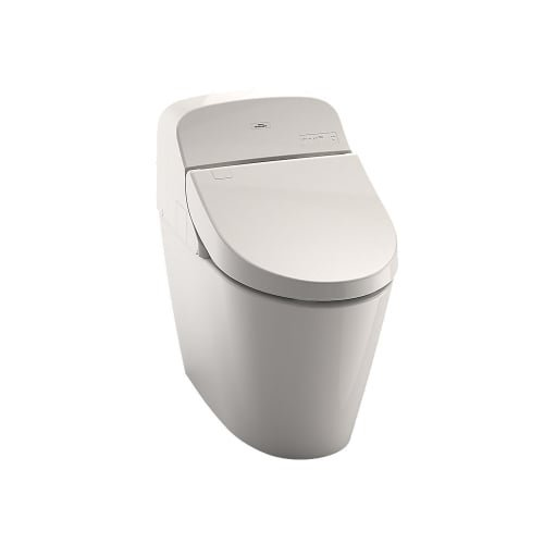 TOTO MS920CEMFG#12 WASHLET G400 Bidet Seat with Integrated Dual Flush 1.28 or 0.9 GPF Toilet with CEFIONTECT, Sedona Beige
