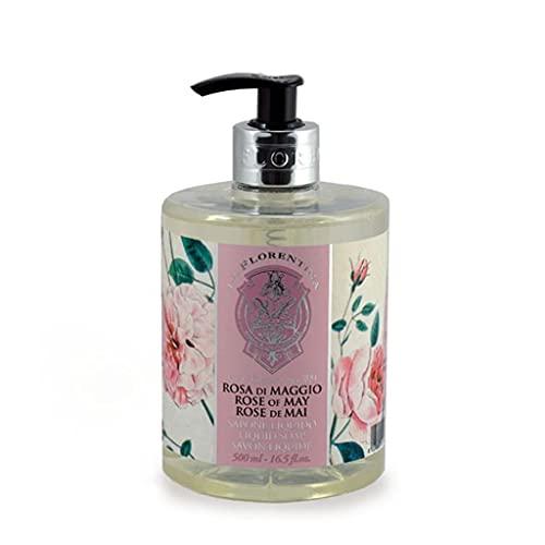 La Florentina Sapone Liquido Rosa di Maggio - 500 ml