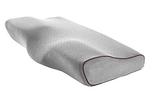 Periste Almohada de memoria ortopédica para el dolor de dolor y cuello Protección de cuello Rebote denso Memoria de espuma de espuma Cuidado de la salud Cervical Cuello de almohada Cubierta Almohada s