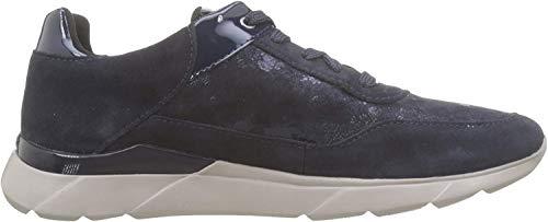 Geox D Sandal Hiver A, Zapatillas Mujer, Azul (Navy C4002), 41 EU