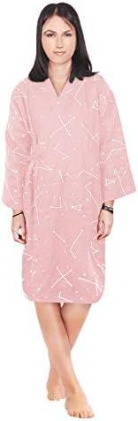 Women Men Sleepwear Pajama Kimono Bathr Lounge Cotton Robe New sales Sleep Limited time for free shipping