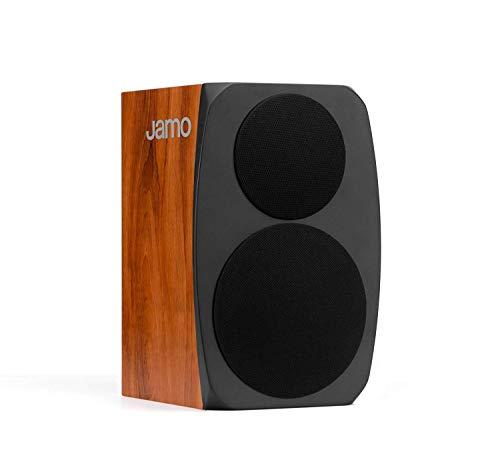 Jamo C 91–Lautsprecher (Oberseite Tisch-/Bücherregal, Universal, XLR, 65–24000Hz, schwarz, Holz)