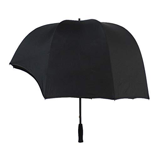YOUAI Umbrella, Bubble Clear Umbrella for Weddings, Bulk Wholesale Large Windproof Transparent-black-90cm