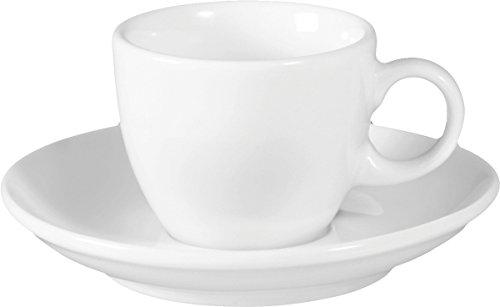 Seltmann Weiden Vip Weiss Uni Espressotasse mit Untertasse 1132