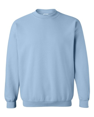 Gildan Men's Heavy Blend Crewneck Sweatshirt - Medium - Light Blue