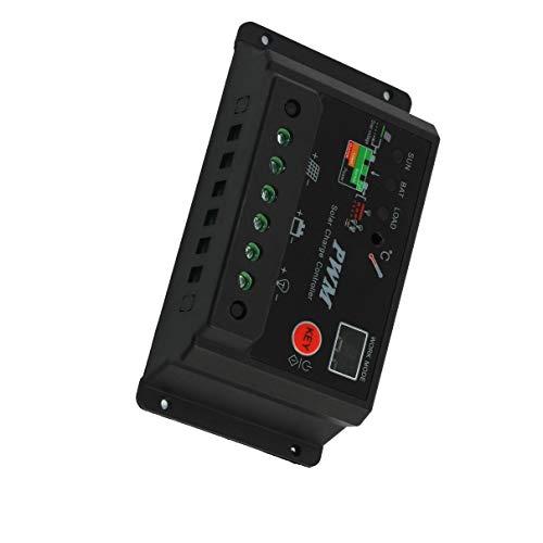 Aexit CMTR-30A 30A 12V 24V Solarladegerät für Batterieregler...