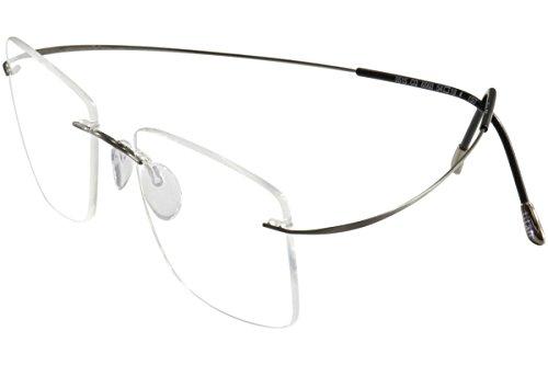 SILHOUETTE Eyeglasses TMA Must Collection 5515 6560 Gunmet. Optical Frame 17x140
