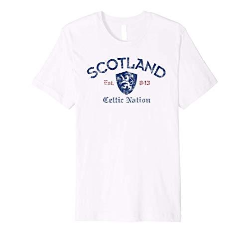 Scotland Celtic Nation Established 843 Premium T-Shirt