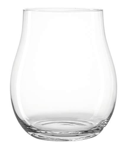 Leonardo Giardino Windlicht, Höhe 32 cm, Durchmesser 27,3 cm, handgefertigtes Klarglas, 010255
