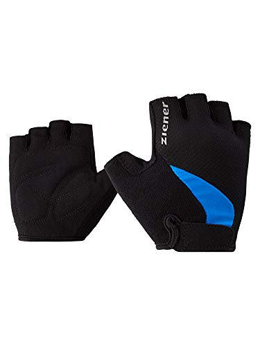 Ziener Kinder CRIDO Fahrrad-, Mountainbike-, Radsport-Handschuhe | Kurzfinger - atmungsaktiv/dämpfend, persian blue, S