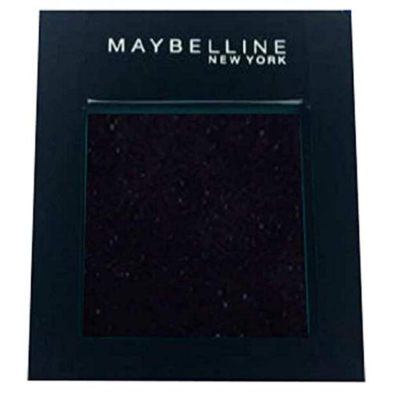 マイルド贅沢な枢機卿[Maybelline ] メイベリンカラーショーシングルアイシャドウ125の夜 - Maybelline Color Show Single Eyeshadow 125 Night [並行輸入品]