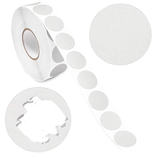 Juvale Scratch Off Stickers – Round Labels (1 in, Silver, Pack of 1000)