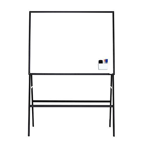 Tableau blanc Une pièce magnétique portable Support magnétique Whiteboard mobile réglable Bureau du Conseil de démonstration d'enseignement Aide écriture permanente Chevalet Support for tableau blanc