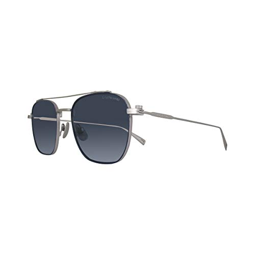 G-STAR RAW Sonnenbrille GS130S-045-52 Gafas de sol, Plateado (Silver), 52.0 para Hombre