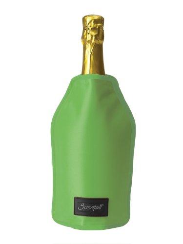 LE CREUSET Screwpull Enfriador para Botellas de Vino Funda Blanda, Verde