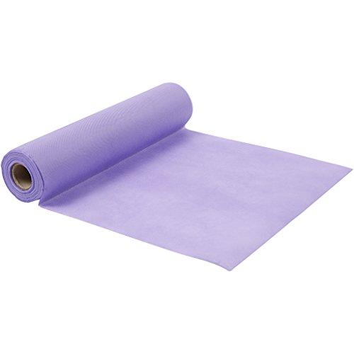 Chemin de table, l: 35 cm, 70 cm, violet, 10m