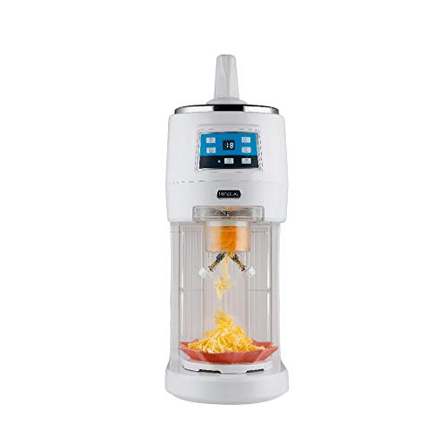 Cheapest Prices! HIZLJJ Shaved Ice Shaved Ice and Snow Cone Machine,Commercial Ice Machine, Intellig...