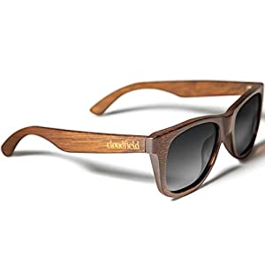 Wood Sunglasses Polarized for Men and Women – Bamboo Wooden Sunglasses Sunnies – Fishing Driving Golf