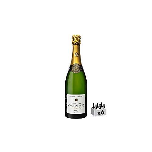 Champagne Signature Blanc de Blanc - Champagne Philippe Gonet - Rebsorte Chardonnay - 6x75cl - 16/20 Gault & Millau