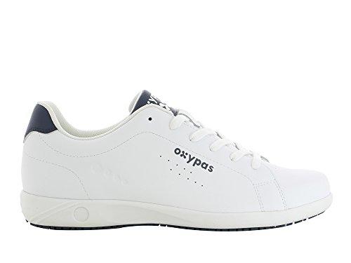 Oxypas Evan Herren Arbeits- und Sicherheitsschuhe | Sneaker, Farbe: weiß, Größe: 46