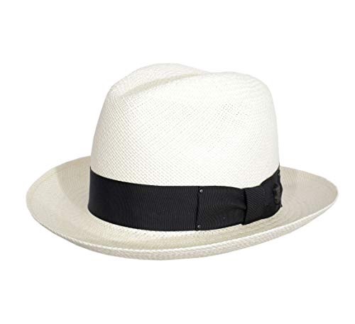 Bailey of Hollywood - Authentique Chapeau Panama, tressage Traditionnel en Équateur Homme Thurman - Taille L