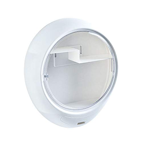 HIUHIU Wandmontage kosmetische Aufbewahrungsbox Homepage Kommode Bad wasserdicht kreative große Kapazität,Weiß