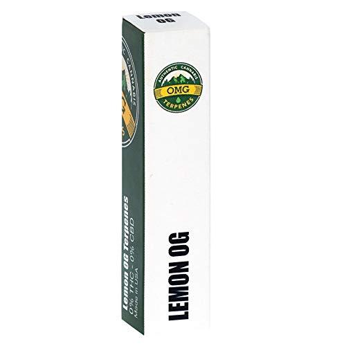 LEMON OG Cannabis Terpene 2 ml - 100% natürlich + nikotinfrei - für E-Liquids, Extrakte und mehr!