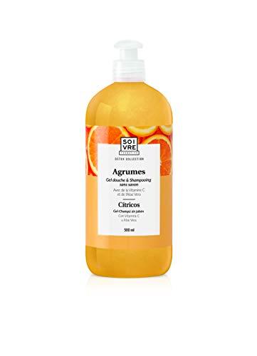 Gel douche & shampooing sans savon 500ml - Extra doux (Agrumes)
