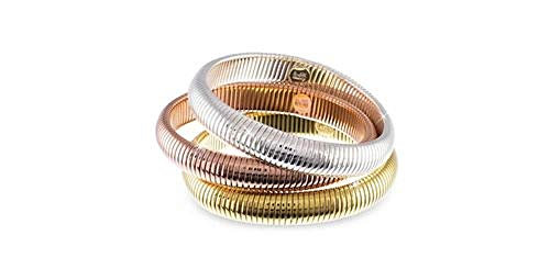 Bracciale Unoaerre Bronze Tre Colori Tubogas