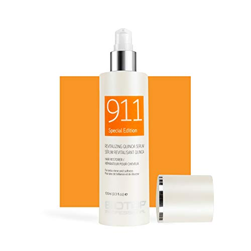 911 Quinoa Serum for Dry, Lifeless, and Damaged Hair,100 ml – Biotop Professional
