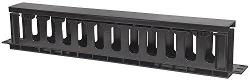 Intellinet Kabelbeheer voor 48,3 cm 19 kasten 19 kabelgeleiding 1 HE met afdekking zwart 714679