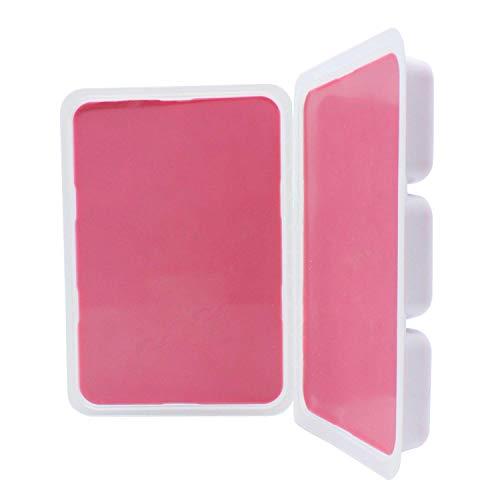 KOKEN - Cera depilatoria Rosa Mosqueta en bandeja   1 Kg   Cera depilatoria profesional sólida   Pastillas cera caliente.