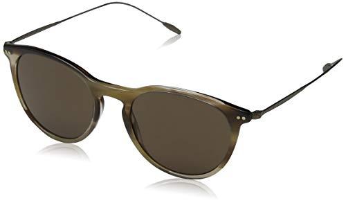 Armani GIORGIO 0AR8108 Gafas de sol, Striped Brown, 51 para Hombre